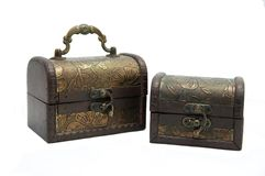 Two old trunk Royalty Free Stock Photography