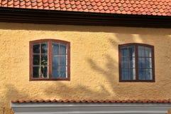 Two old windows Stock Photos