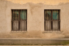 Two old windows Royalty Free Stock Images