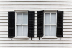 Two open windows Stock Photos
