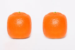 Two Orange Royalty Free Stock Photography