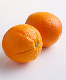 Two oranges Royalty Free Stock Images