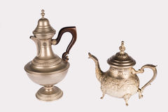 Two oriental teapots Stock Photo