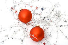 Two ornaments Royalty Free Stock Photo