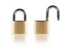 Two Padlock Stock Image