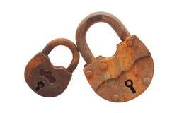 Two padlock Royalty Free Stock Photography