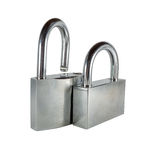 Two padlocks Royalty Free Stock Photos
