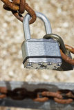 Two Padlocks Stock Photos