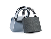 Free Two Padlocks Closed. Stock Photos - 22495513