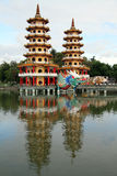 Two pagodas Royalty Free Stock Photography