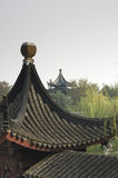 Two pagodas in Suzhou in China Stock Photos