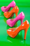 Two pair high heels. Royalty Free Stock Images