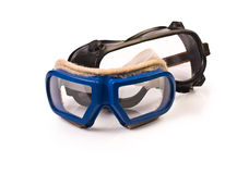 Two pairs of Protectivie Goggles Royalty Free Stock Images
