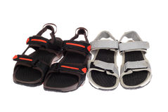 Two pairs of sandals Royalty Free Stock Photo