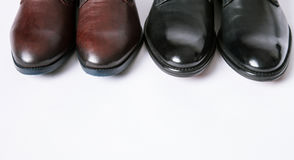 Two pairs shoes Royalty Free Stock Photography