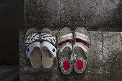 Two Pairs Of Shoes Stock Images