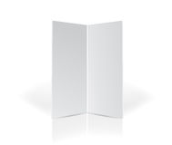 Two panel template for customization Royalty Free Stock Photo