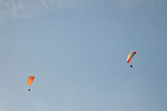 Two Para-gliders Stock Image