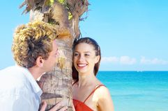 Two in paradise Royalty Free Stock Photos