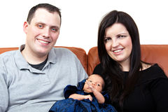 Two Parents with Child Royalty Free Stock Photo