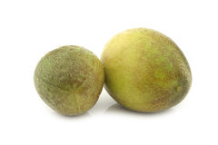 Two passion fruits Stock Image