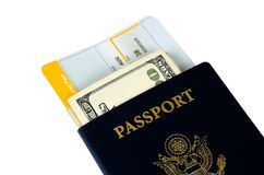 Two passports Royalty Free Stock Images