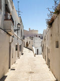 Two path in Vejer Stock Photography