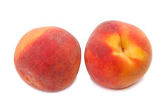 Two peach Royalty Free Stock Photography