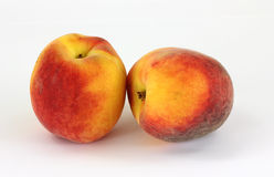 Two Peaches Royalty Free Stock Image