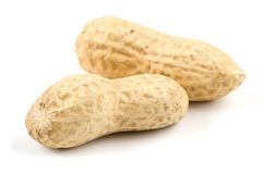 Two peanuts Royalty Free Stock Photography