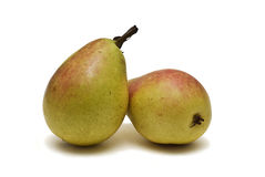 Two pears. royalty free stock images