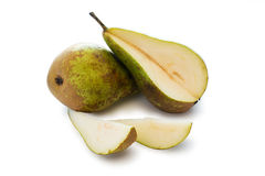 Two pears Royalty Free Stock Images