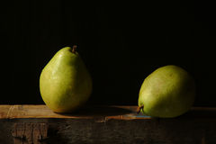 Two pears royalty free stock image