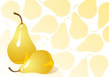 Free Two Pears Royalty Free Stock Image - 8557376
