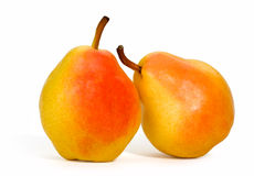 Two pears Stock Photography