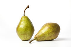 Two pears Triomphe de Vienne Royalty Free Stock Image