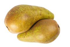 Two pears in a yin yang symbol Stock Photography
