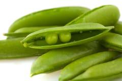 Two Peas in a Pod stock photos