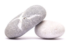 Two pebbles Stock Image