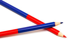 Two pencil Royalty Free Stock Photography