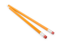 Two pencils Royalty Free Stock Images