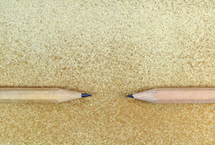 Two pencils Stock Photo