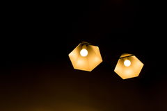 Two pendant lamp. Stock Photo