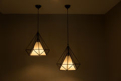 Two pendant lamp. Stock Photography