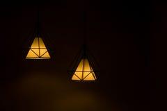 Two pendant lamp. Stock Photos