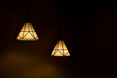 Two pendant lamp. Stock Image