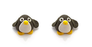 Two penguin doll Royalty Free Stock Photos