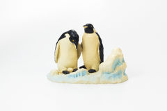 Two penguin doll Stock Photo