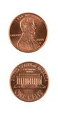Two Pennies Stock Photography