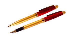 Two pens Stock Photo